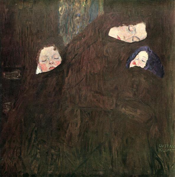 Mother with Children, c.1909 - c.1910 - Gustav Klimt