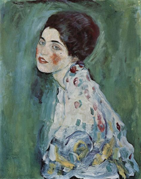 Portrait of a Lady, c.1916 - c.1917 - Gustav Klimt