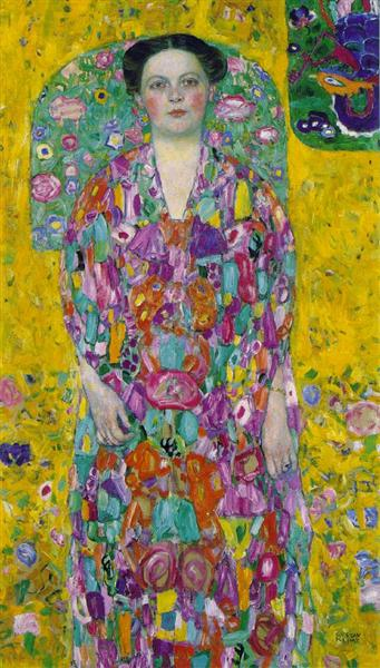 Portrait Of Eugenia Primavesi, 1913 - Gustav Klimt