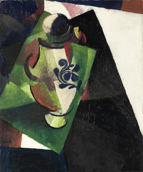 Composition with a Vase, 1918