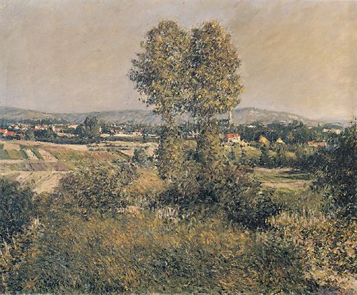 Landscape at Argenteuil, 1889