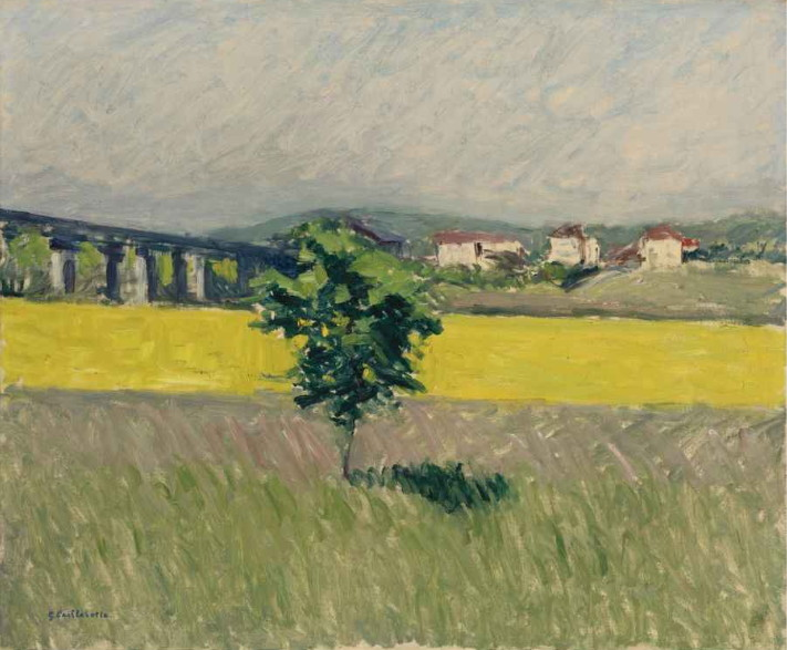Meadow Bridge at Argenteuil, 1882-1886