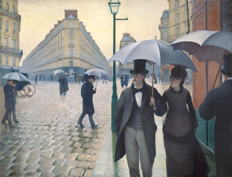 Paris, a Rainy Day, 1877 - Gustave Caillebotte