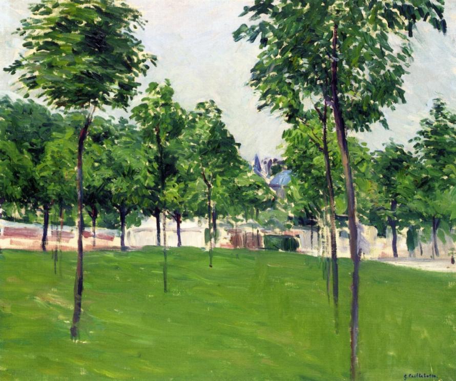 Promenade at Argenteuil, 1883