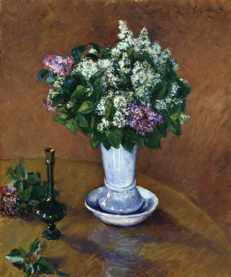 Still Life with a Vase of Lilacs, 1883