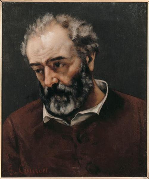 Portrait of Paul Chenavard - Gustave Courbet