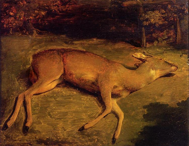 The Dead Doe, 1857 - Gustave Courbet