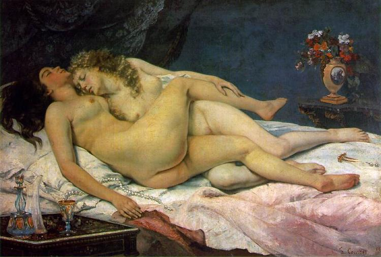 The Sleepers, 1866 - Gustave Courbet