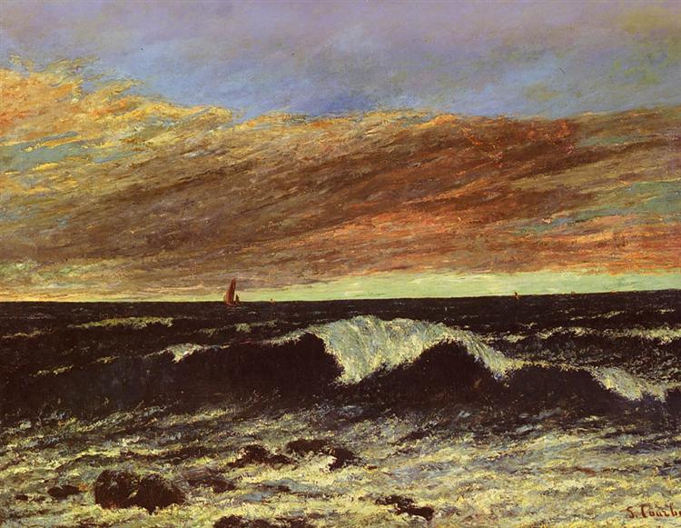 The Wave - Gustave Courbet