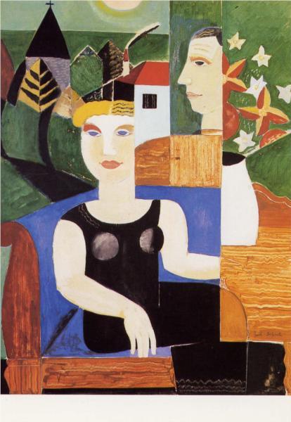 L'artiste et sa femme, 1927 - Gustave de Smet