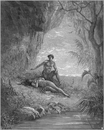 Adam and Eve - Gustave Dore