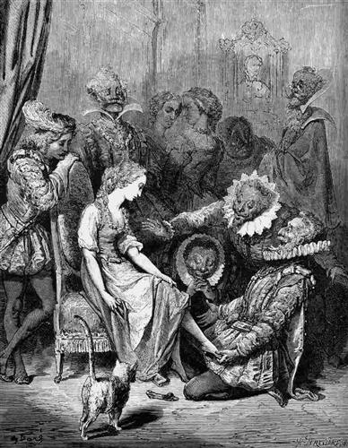 He Perceived That Her Little Foot Slid In Without Trouble - Gustave Dore