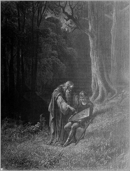 Idylls of the King - Gustave Dore