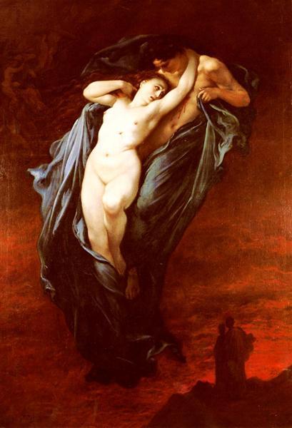 Paolo and Francesca da Rimini - Dore Gustave