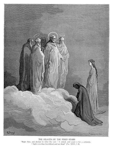 The Heaven of the Fixed Stars - Dore Gustave