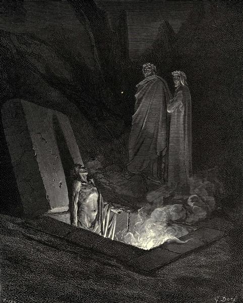 The Inferno, Canto 10 - Gustave Dore