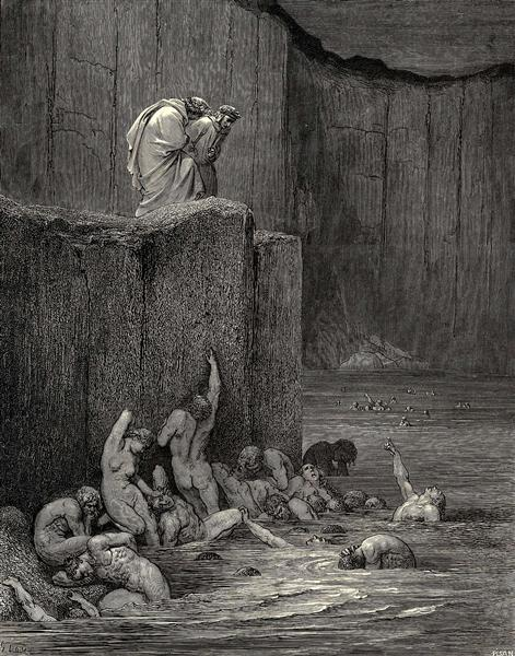 The Inferno, Canto 18 - Gustave Dore
