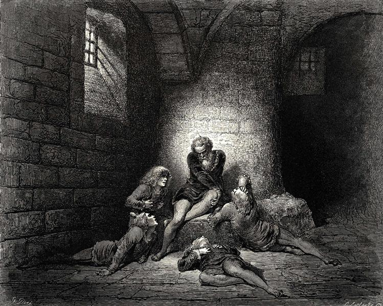 The Inferno, Canto 33 - Gustave Dore