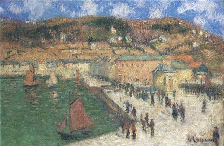 Grand Quay, Fecamp - Gustave Loiseau
