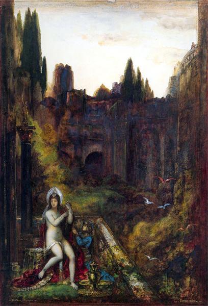 Bathsheba, c.1885 - c.1886 - Gustave Moreau