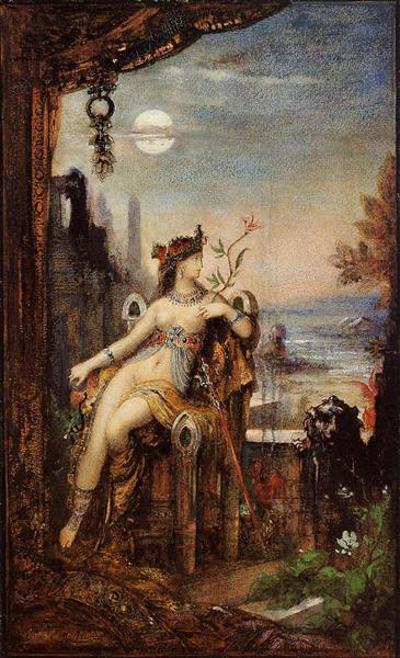 Cleopatra, c.1887 - Gustave Moreau