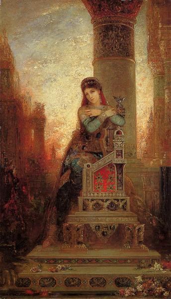 Desdemona, c.1875 - Gustave Moreau