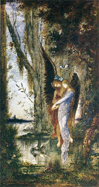 Evening and Sorrow, c.1882 - Gustave Moreau