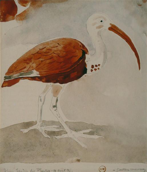Ibis, 1876 - Гюстав Моро