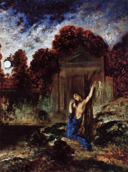 Orpheus at the Tomb of Eurydice, 1891 - Gustave Moreau