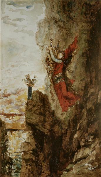Sappho in Leucadia, 1880 - Gustave Moreau