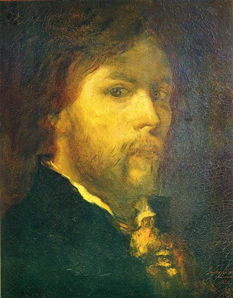 Self-portrait, 1850 - Gustave Moreau