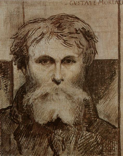 Self-portrait, 1872 - Gustave Moreau