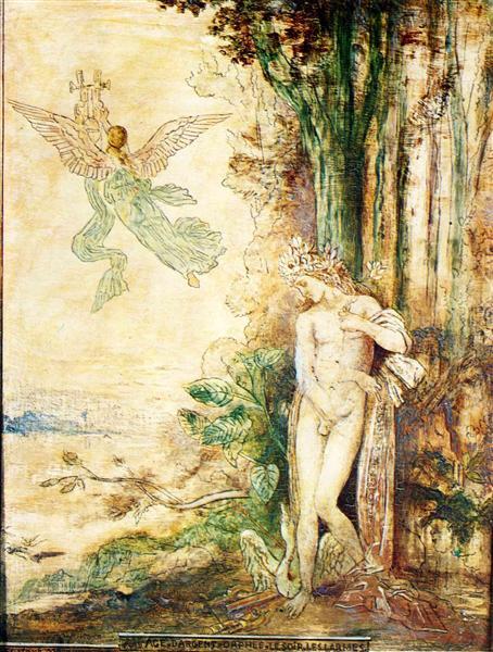 Silver Age (Orpheus), 1886 - Gustave Moreau