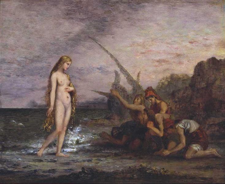 The Birth of Venus, c.1866 - Gustave Moreau