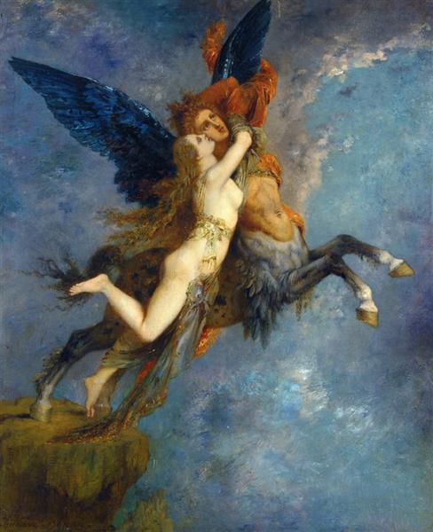 The Chimera, 1867 - Gustave Moreau
