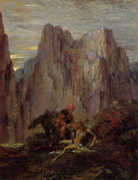The Good Samaritan, c.1870 - Gustave Moreau