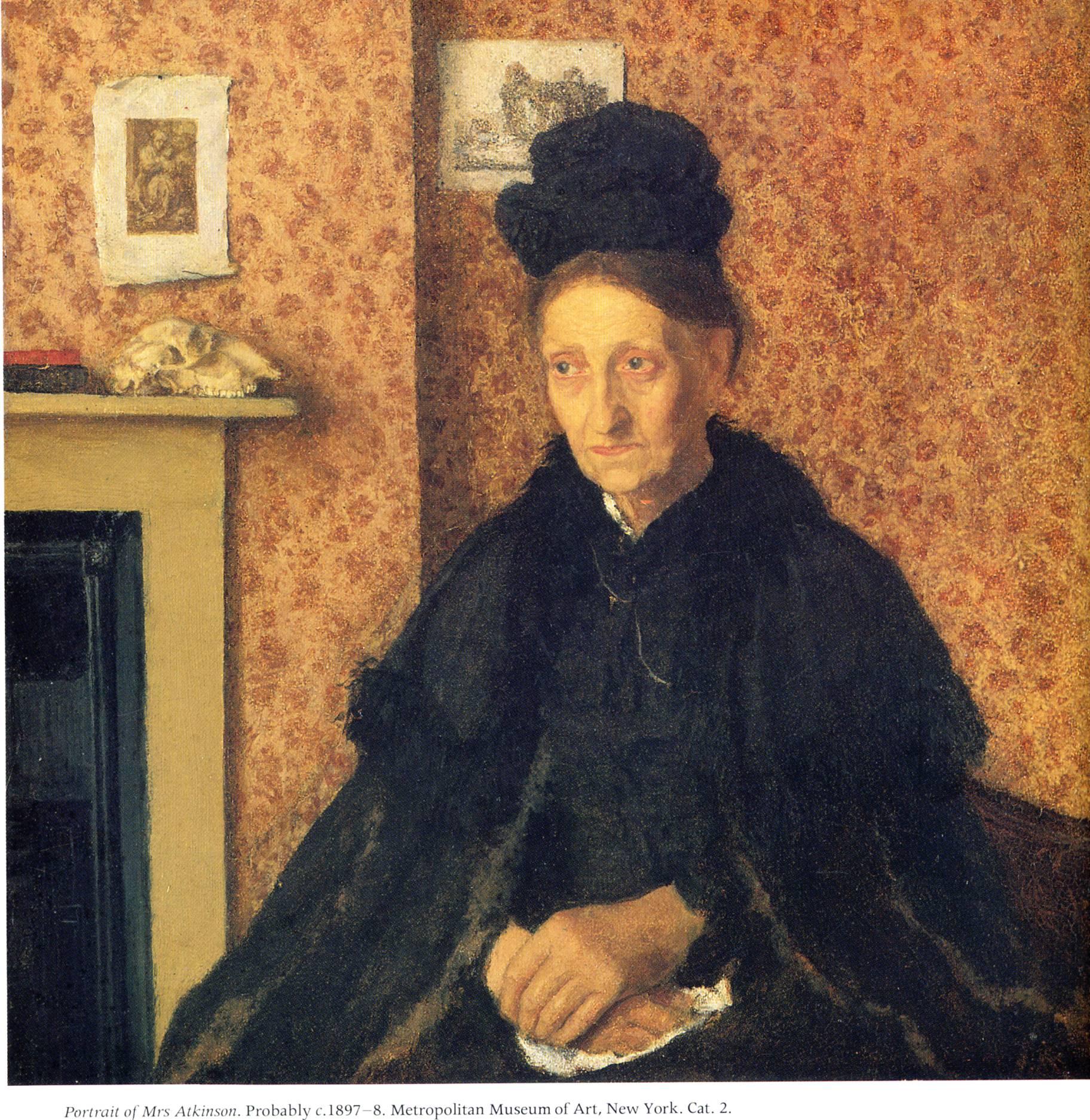 Portrait of the Artists Sister Winifred - Gwen John