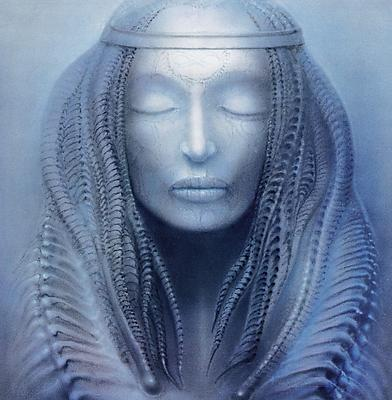 Work Nr. 217 ELP I (Brain Salad Surgery), 1973 - H.R. Giger