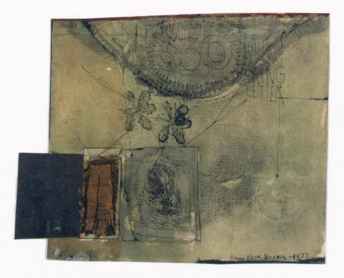 Spring Letter, 1973 - Ханнелор Барон