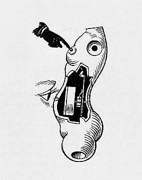 La Poupée (The Doll), detail, 1936 - Hans Bellmer