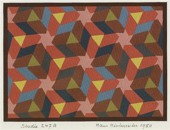 Studie 247A, 1950 - Hans Hinterreiter