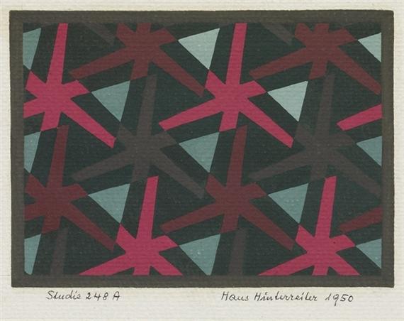Studie 248A, 1950 - Hans Hinterreiter