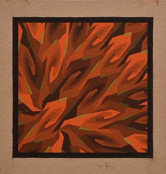 Sun Flames, 1937 - Hans Hinterreiter
