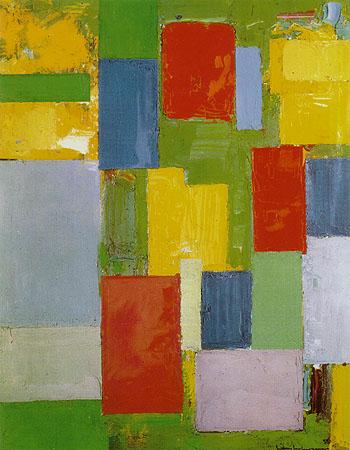 Abstract Euphony, 1958 - Hans Hofmann