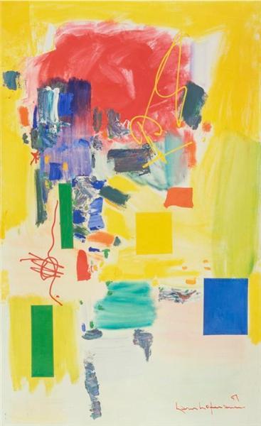 Golden Splendor, 1957 - Hans Hofmann