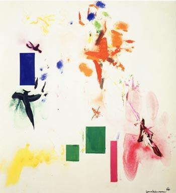 Joy Sparks of the Gods II, 1958 - Hans Hofmann