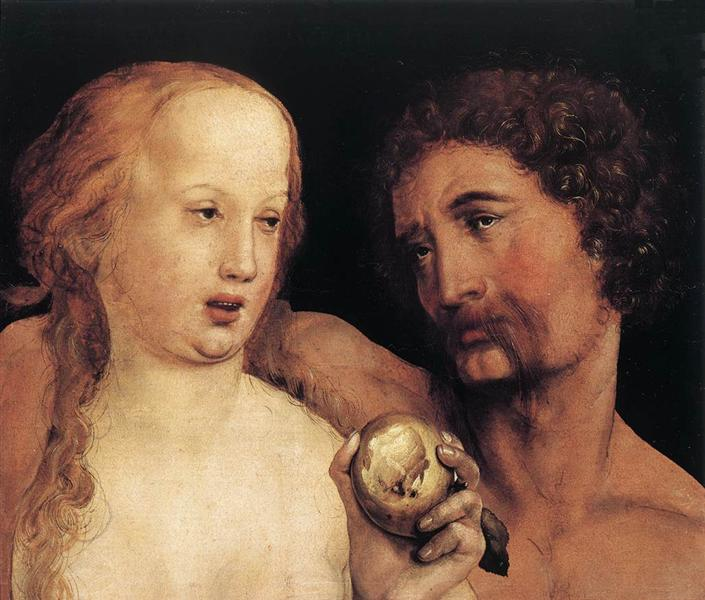 Adam and Eve, 1517 - Hans Holbein the Younger