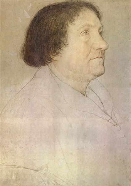 Portrait of Jakob Meyer zum Hasen, Mayor of Basel, 1528 - Hans Holbein the Younger