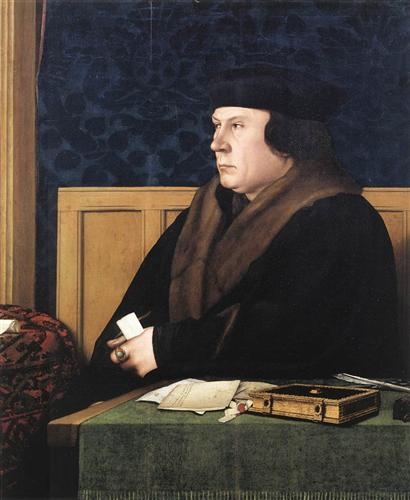 Portrait of Thomas Cromwell - Hans Holbein the Younger