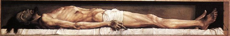 The Body of the Dead Christ in the Tomb, 1521 - Hans Holbein the Younger